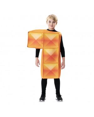 Costume Tetris Bambino Arancia per Carnevale | La Casa di Carnevale