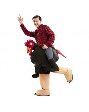 Costume Up! Ride-on  Gallo Esibizionista  Adulto per Carnevale   La Casa di Carnevale