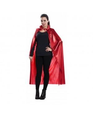 Mantello Rosso 120cm. Adulto per Carnevale | La Casa di Carnevale