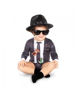 Bodysuit Blues Brother Bimbi per Carnevale | La Casa di Carnevale