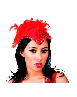 Cappellino Rosso di Cabaret Per Adulti