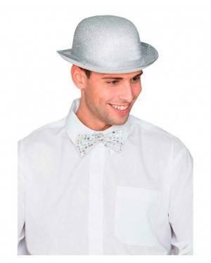 Cappello Bombetta Argento