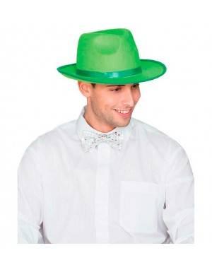 Cappello Gangster Feltro Verde