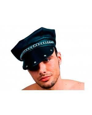 Cappello Motociclista in Ecopelle per Carnevale