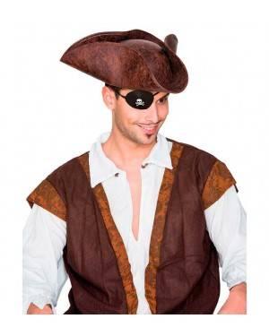 Cappello Pirata Imitación Imitazione Similpelle