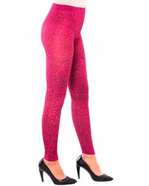 Collant Leopardato Fucsia Adulti