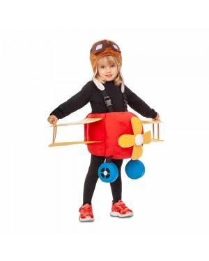 Costume Aeroplano e Pilota 3-4 anni per Carnevale | La Casa di Carnevale