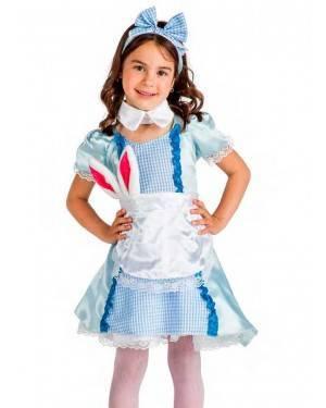 Costume Alice Tg. 3-4 Anni