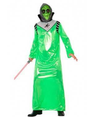 Costume Alieno Verde Adulto XL