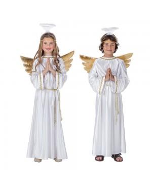 Costume Angelo Bianco Bambini per Carnevale | La Casa di Carnevale