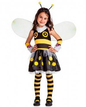 Costume Ape Lady Bee Tg. 10-12 Anni