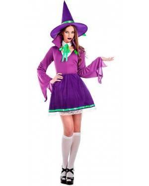Costume Apprendista Mago Viola Taglia M/L per Carnevale