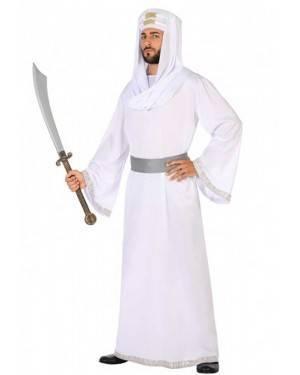 Costume Arabo Bianco Adulto per Carnevale | La Casa di Carnevale