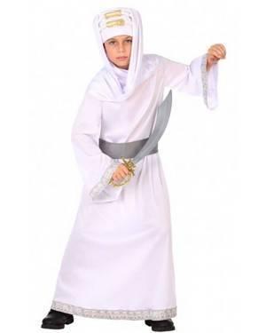 Costume Arabo Bianco Bambini per Carnevale | La Casa di Carnevale