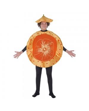 Costume Arancia di Mandarino Adulto per Carnevale | La Casa di Carnevale