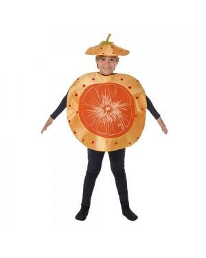 Costume Arancia di Mandarino Bambini per Carnevale | La Casa di Carnevale