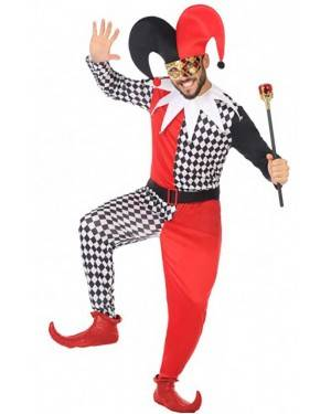 Costume Arlecchino Adulto  per Carnevale | La Casa di Carnevale