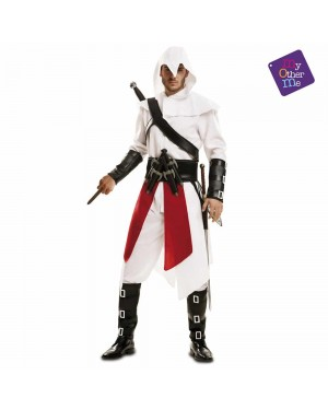 Costume Assassino Bianco Adulto per Carnevale | La Casa di Carnevale