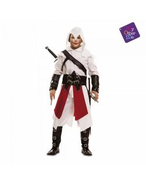 Costume Assassino Bianco Bambino per Carnevale | La Casa di Carnevale