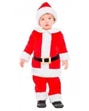 Costume Babbo Natale Tg. 0-6 Mesi