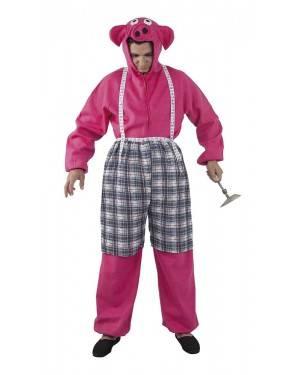 Costume da Babe Maialino Coraggioso Adulto XL