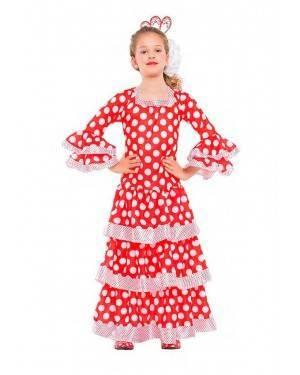 Costume Ballerina di Flamenco Tg. 10-12 Anni