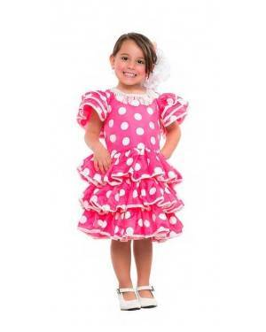Costume Ballerina di Flamenco Tg. 5-6 Anni