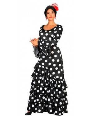 Costume Ballerina Flamenco Nero XL