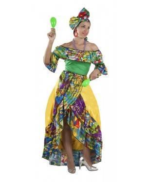 Costume da Ballerina di Rumba Brasiliana Adulto