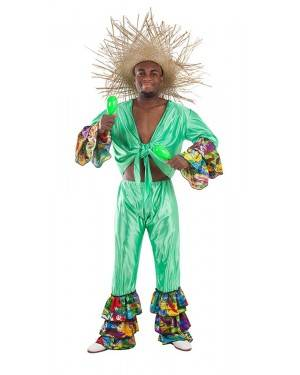 Costume da Ballerino di Rumba Brasiliano Adulto