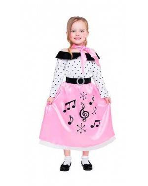 Costume Bambina Anni´50 Tg. 10-12 Anni