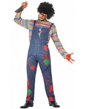 Costume Bambola Assassina Adulto per Carnevale | La Casa di Carnevale