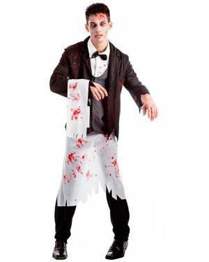Costume Barman Zombie Taglia M/L per Carnevale