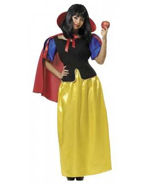 Costume da Biancaneve Adulto per Carnevale | La Casa di Carnevale