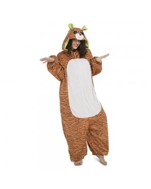 Costume Big Eyes Tigre Adulto per Carnevale | La Casa di Carnevale
