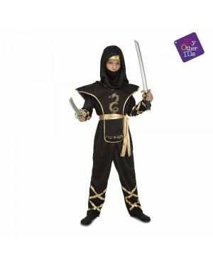 Costume Black Ninja Bambino per Carnevale | La Casa di Carnevale