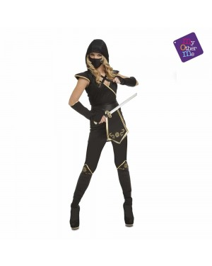 Costume Black Ninja Woman per Carnevale   La Casa di Carnevale