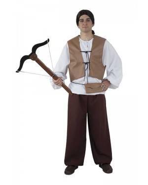 Costume da Cacciatore Medievale