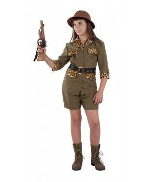 Costume da Cacciatrice Safari Bambina
