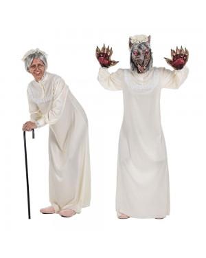 Costume Camicia da Notte Nonna per Carnevale | La Casa di Carnevale