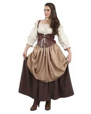 Costume da Campagnola Medievale Adulto