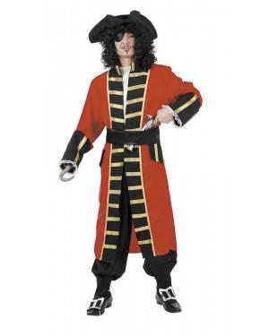 Costume da Capitan Pirata Adulto per Carnevale | La Casa di Carnevale