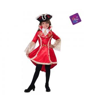 Costume Capitana Corsara Bambina per Carnevale | La Casa di Carnevale