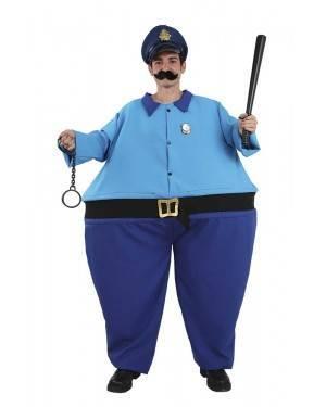 Costume da Capo della Polizia Adulto XL