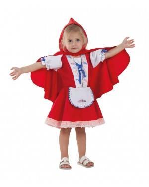 Costume da Cappuccetto Rosso Bimba