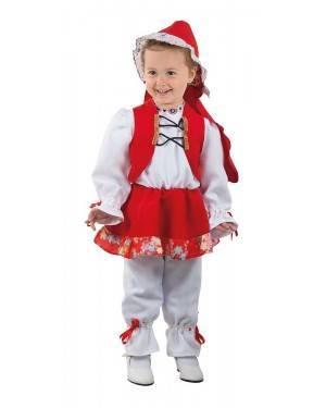Costume da Cappuccetto Rosso Bimba per Carnevale | La Casa di Carnevale