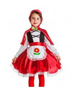 Costume Cappuccetto Rosso Tg. 1-2 Anni