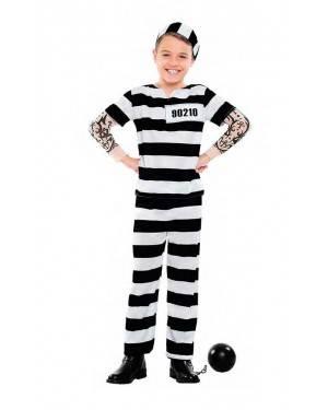 Costume Carcerato Tattoo Tg. 10-12 Anni