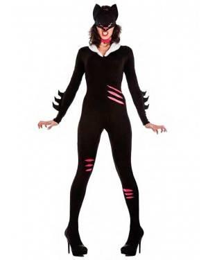 Costume Cat Woman Taglia M-L per Carnevale