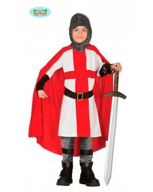 Costume Cavaliere Crociato Bambino